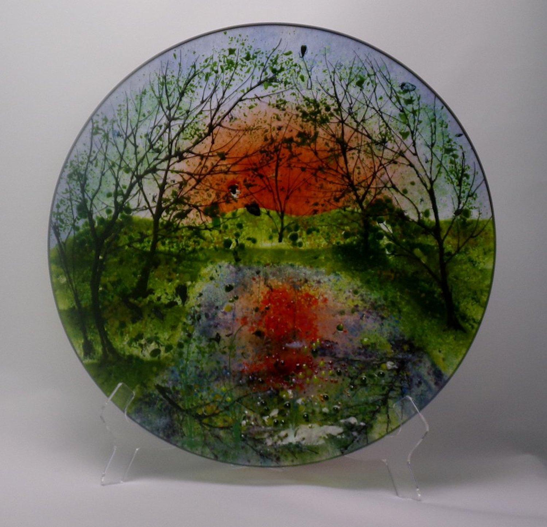 sunset reflection bowl