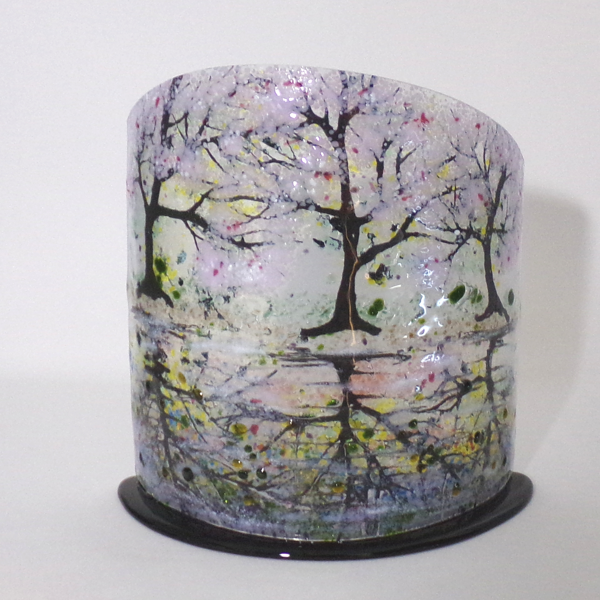 Cherry Blossom Reflections Sculpture