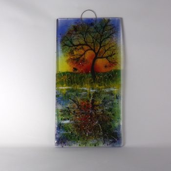 Autumn Colours Reflections Wall Hanging