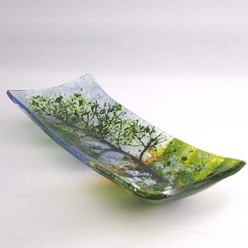 cow parsley rectangular platter