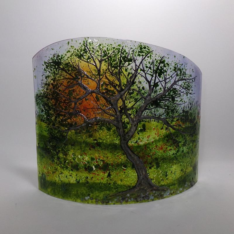 gnarled Oak landscape sculpture