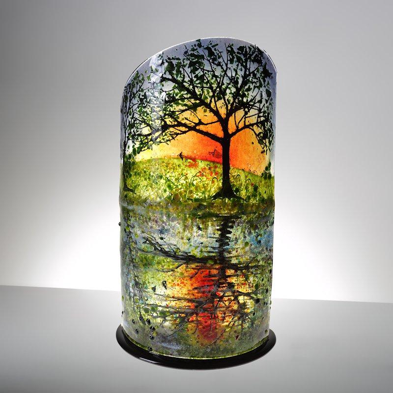 Sunset Reflections Sculpture