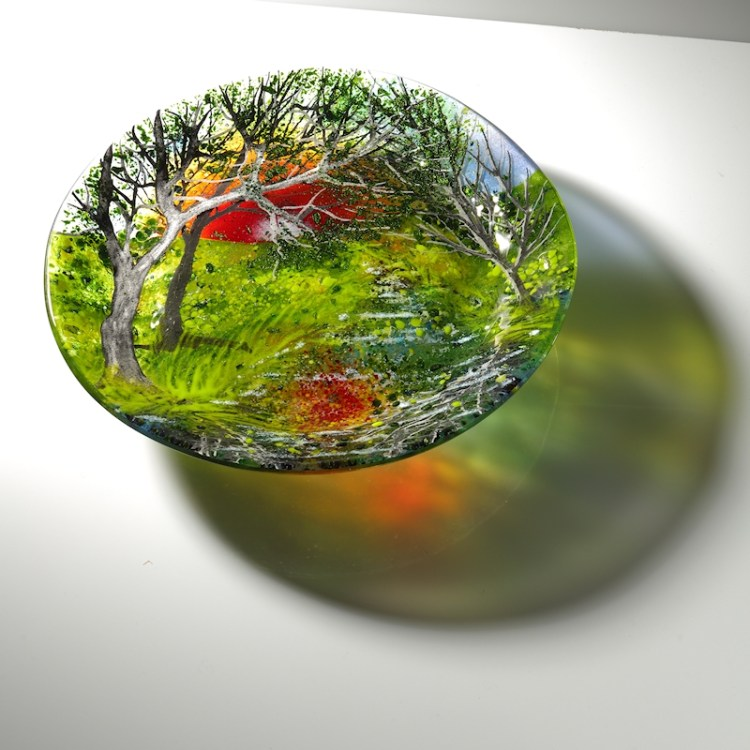 Canal Reflections Plate