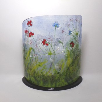 Meadow Curved Glass Sculpture